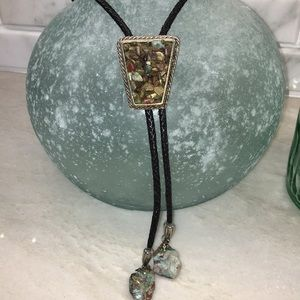 Other - Vintage Native American Indian Bolo Tie Jewelry